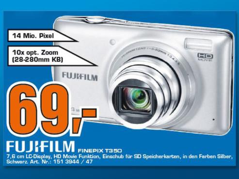 Fujifilm FinePix T350 ©Saturn