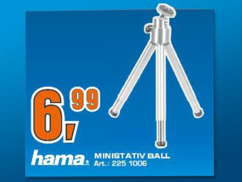 Hama 4009 MiniStativ ©Saturn
