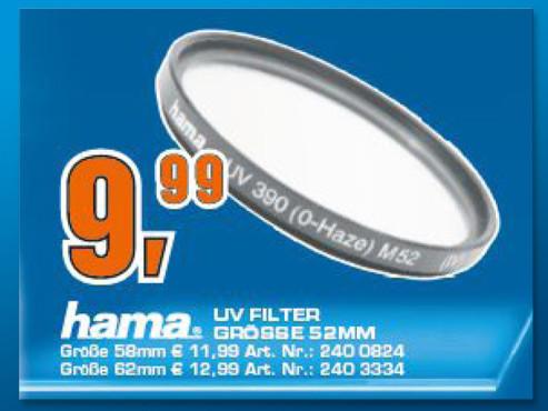 Hama 52mm UV ©Saturn