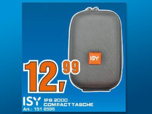 ISY IPB-2000 Fototasche Hardcase für Coolpix / Ixus / Lumix Modelle ©Saturn