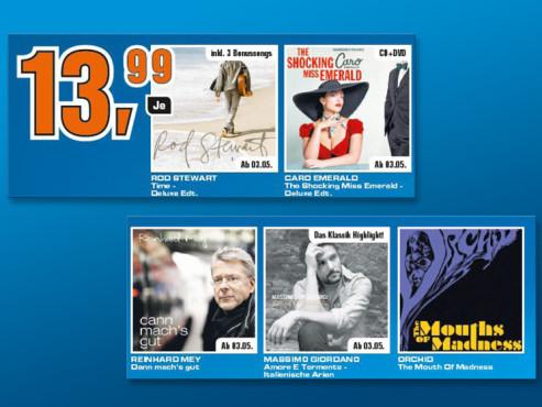 Neue Musik-Alben ©Saturn