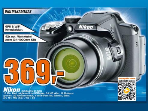 Nikon Coolpix P520 ©Saturn