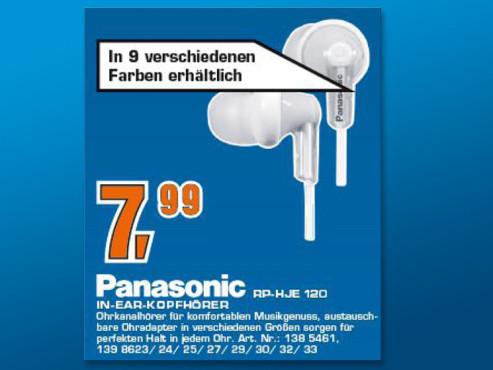 Panasonic RP-HJE120E1 ©Saturn