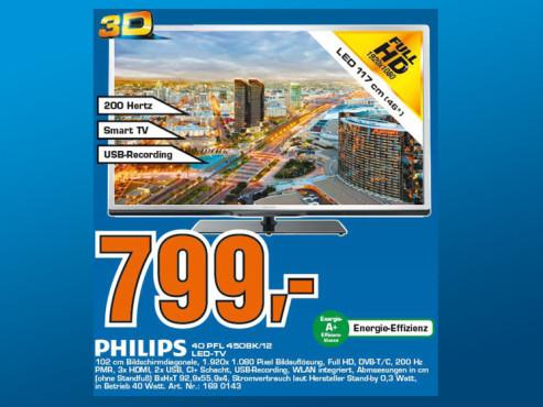 Philips 40PFL4508K ©Saturn
