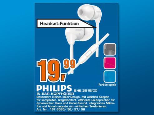 Philips SHE3515 ©Saturn