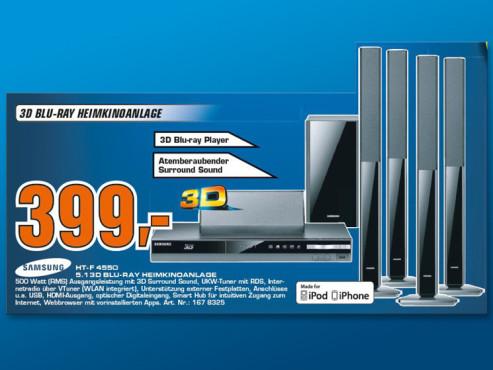 Samsung HT-F4550 ©Saturn