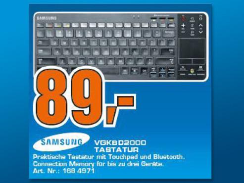 Samsung VG-KBD2000 ©Saturn