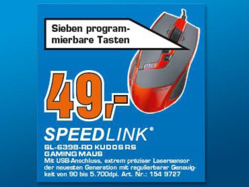 Speed-Link Kudos Gaming Maus ©Saturn