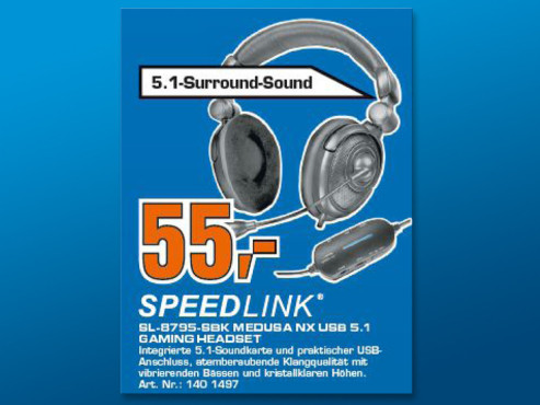 Speed-Link Medusa NX 5.1 (SL-8793-SBK) ©Saturn