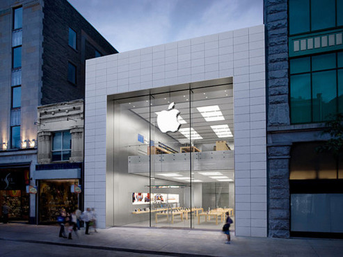 Apple Store Montreal © Apple
