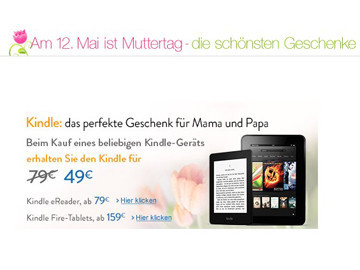 Amazon: Kindle-Angebot © Amazon