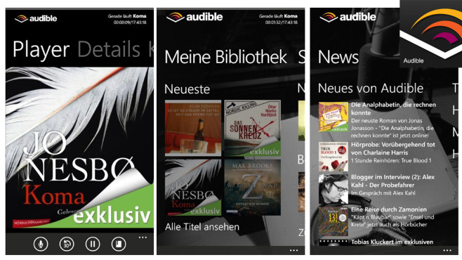 Audible Audiobooks © Audible