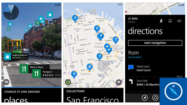 Here Maps © Nokia Corporation