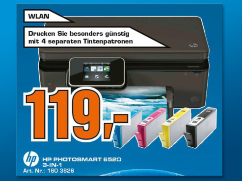 Hewlett-Packard HP Photosmart 6520 ©Saturn