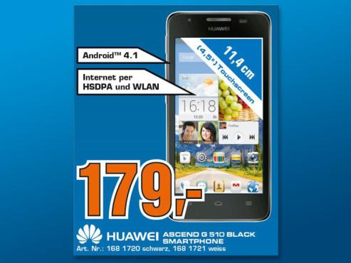 Huawei Ascend G510 ©Saturn