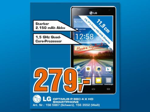 LG Optimus 4X HD ©Saturn