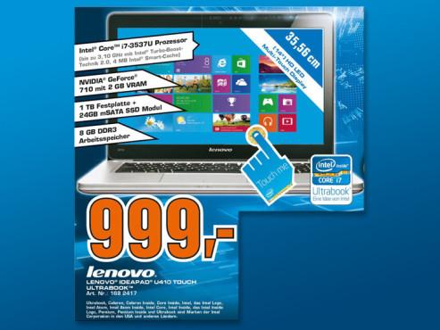 Lenovo IdeaPad U410 MAH9GGE ©Saturn