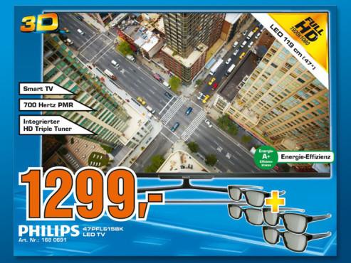 Philips 47PFL6158K ©Saturn