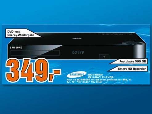 Samsung BD-F8500/EN ©Saturn