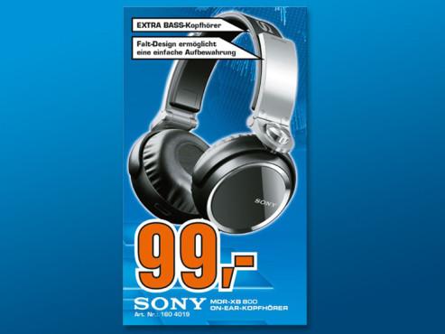 Sony MDR-XB800 ©Saturn