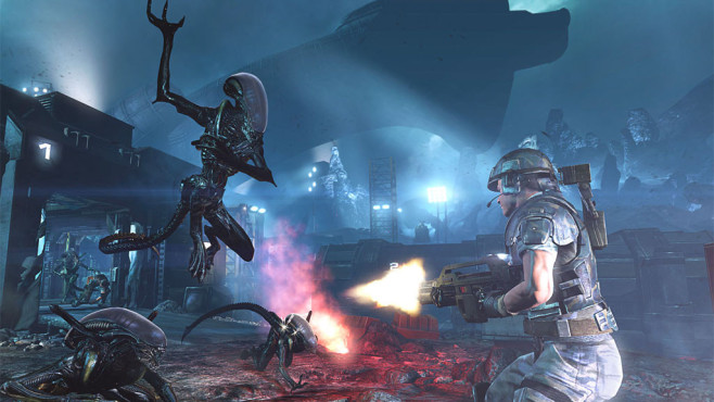 Aliens – Colonial Marines: Alien © Sega