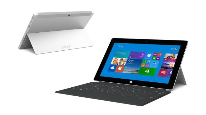 Microsoft Surface 2 mit Tastatur ©Microsoft
