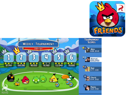 Angry Birds Friends © Rovia Mobile Ltd.