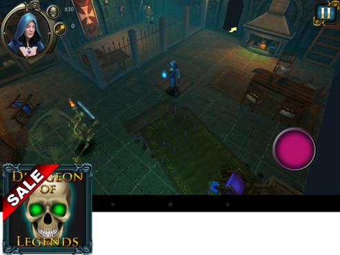 Dungeon of Legends � Chambers of Illusions © Appgamer.de & Hyte-Bytes