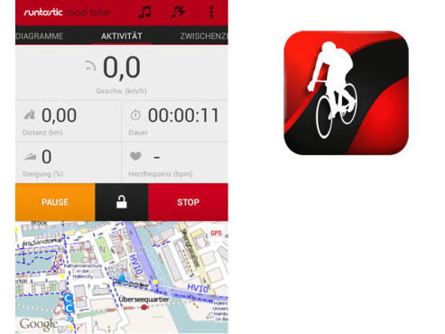 Runtastic Road Bike © Runtastic