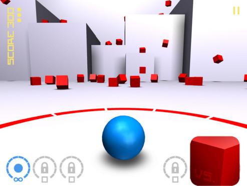 Cubes vs. Spheres ©ShockPanda Games