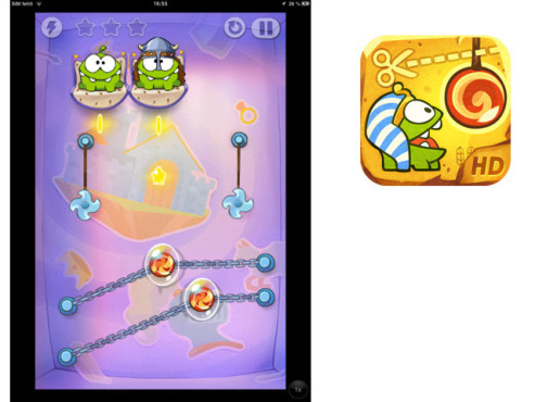 Cut The Rope – Time Travel ©ZeptoLab