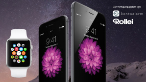 Apple-Gewinnspiel iPhone 6 Apple Watch COMPUTER BILD Pfingstkalender 2015 © Apple