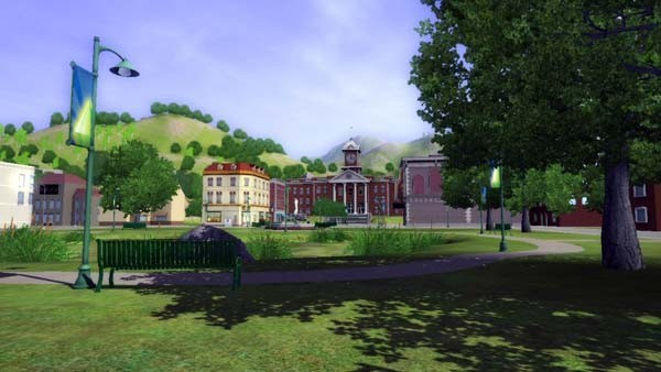 Die Sims 3: Wiese © Electronic Arts