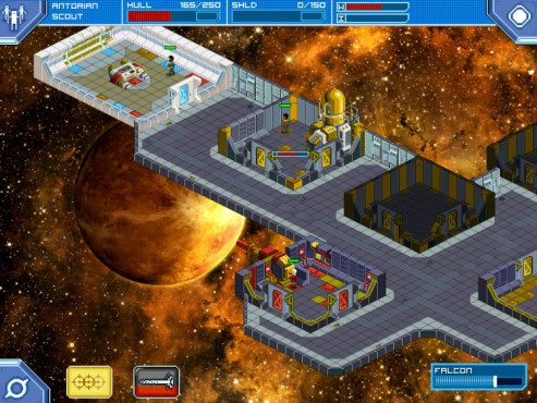 Strategiespiel Star Command: Dodge Room © Warballoon