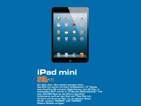 Apple iPad mini © Saturn