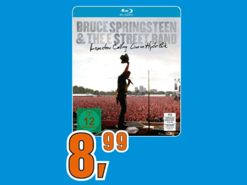 Bruce Springsteen – London Calling: Live in Hyde Park © Saturn