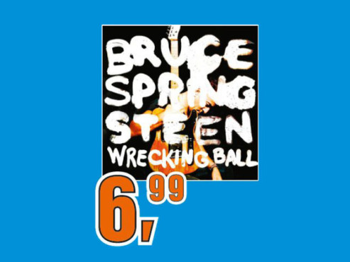 Bruce Springsteen – Wrecking Ball © Saturn