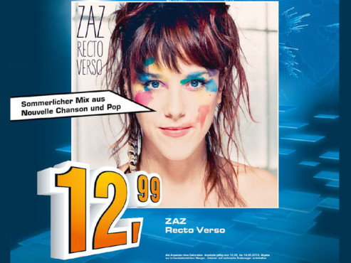 Zaz – Recto Verso © Saturn