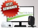Newsletter bestellen und Acer-Technik gewinnen&nbsp;&copy;&nbsp;Acer
