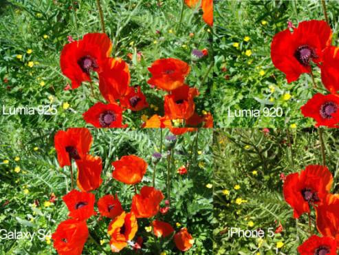 Aufnamen der Kameras von Lumia 925, Lumia 920, Galaxy S4 und iPhone 5 ©COMPUTER BILD