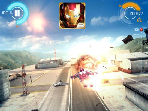 Iron Man 3 – Das offizielle Spiel ©Gameloft