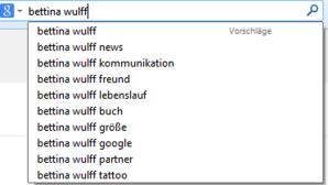 Google: Suche ©Google