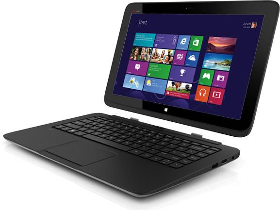 hp split x2 hybrid notebook mit windows 8 und zwei akkus. Black Bedroom Furniture Sets. Home Design Ideas