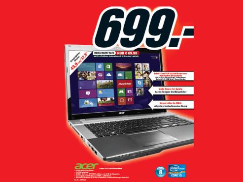 Acer Aspire V3-771G-53238G75Maii (NX.M6SEG.002) ©Media Markt