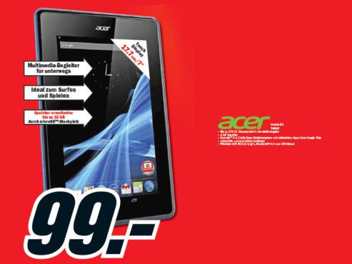 Acer Iconia B1 ©Media Markt