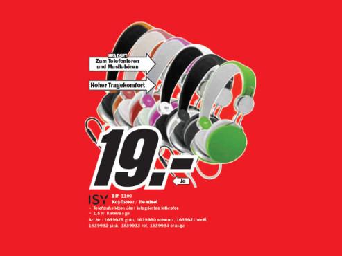 ISY IHP-1100 ©Media Markt