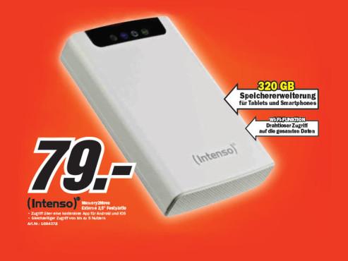 Intenso Memory 2 Move 320GB ©Media Markt