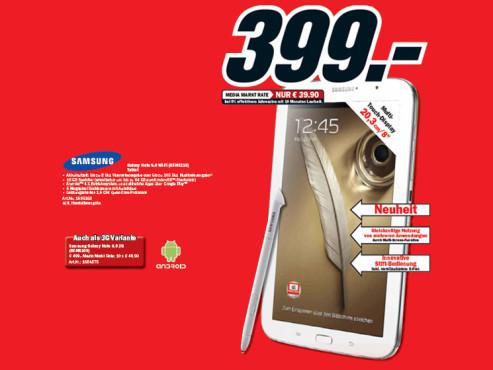 Samsung Galaxy Note 8.0 WiFi 16GB ©Media Markt