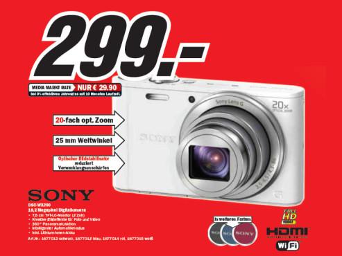 Sony Cyber-shot DSC-WX300 ©Media Markt