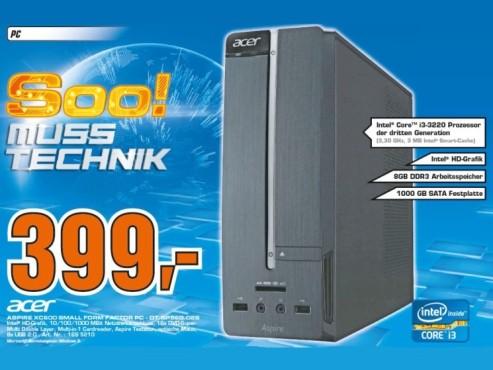 Acer Aspire XC 600 ©Saturn